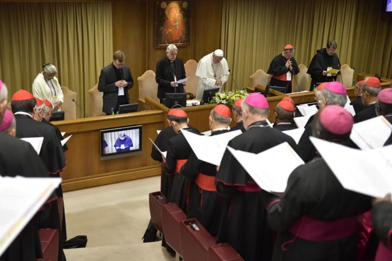 Primer día del Encuentro sobre la protección de menores en la Iglesia © Vatican Media