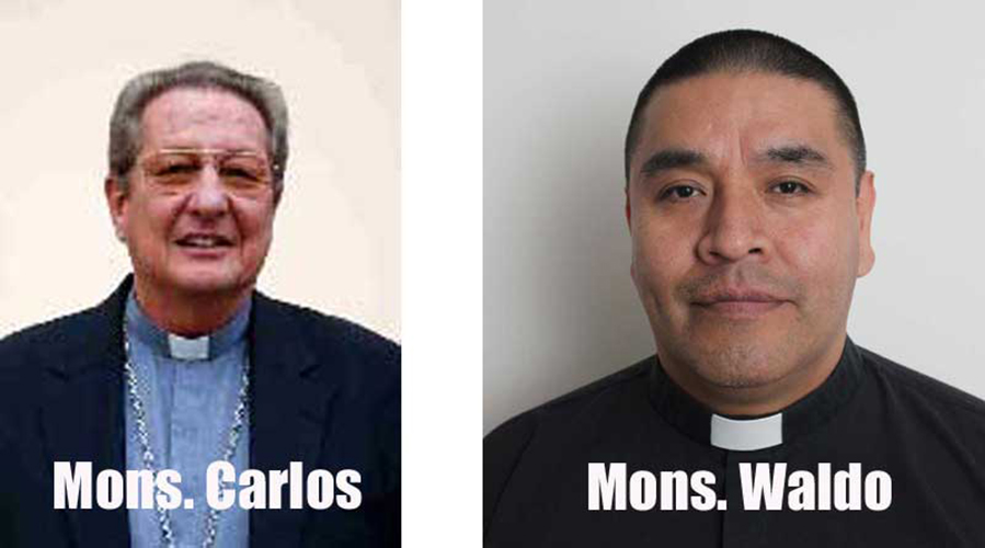 Mons. Karl Bürgler y Mons. Waldo Barrionuevo © Iglesia Viva