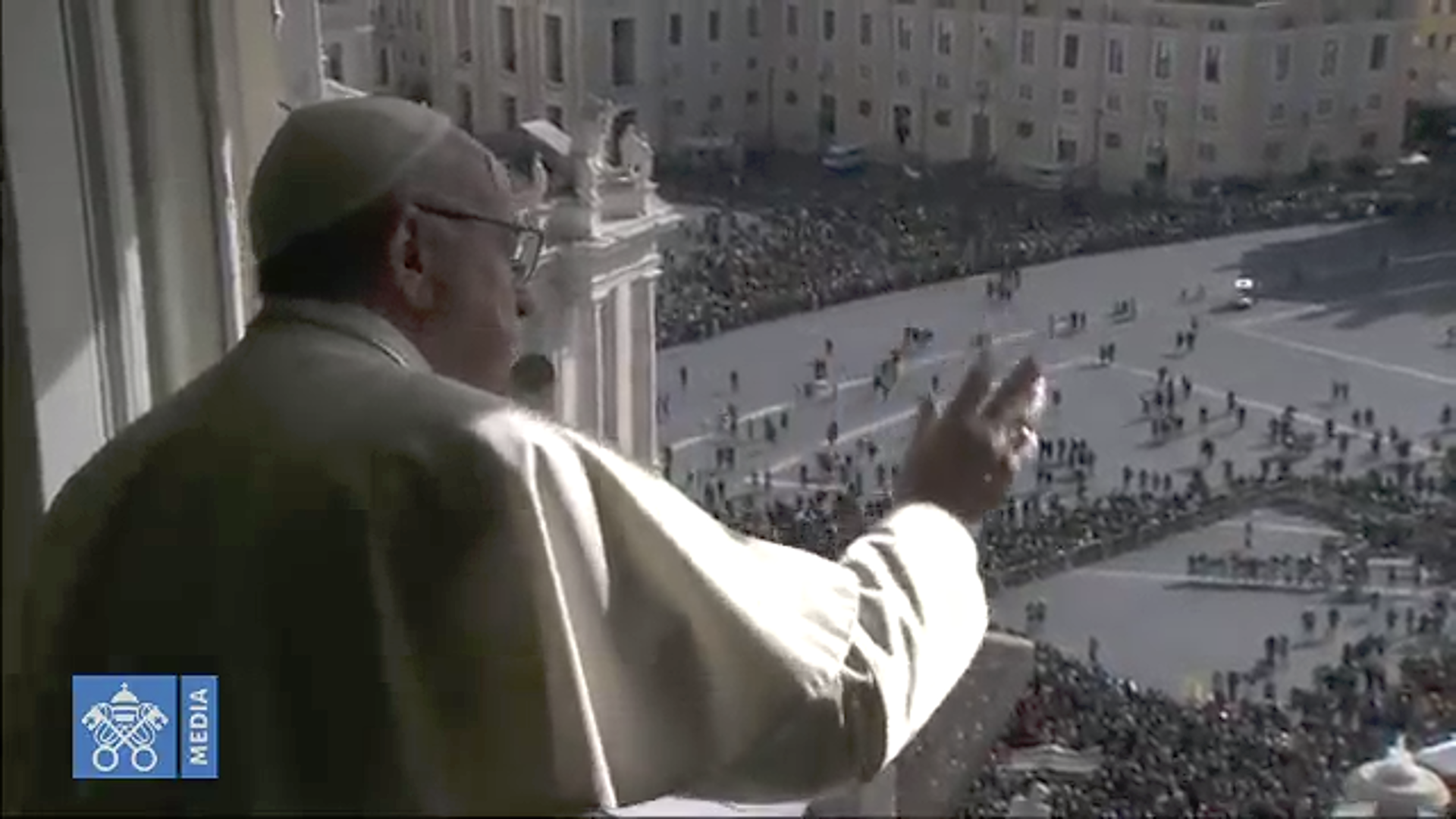 Ángelus 3 febrero 2019 © Vatican Media