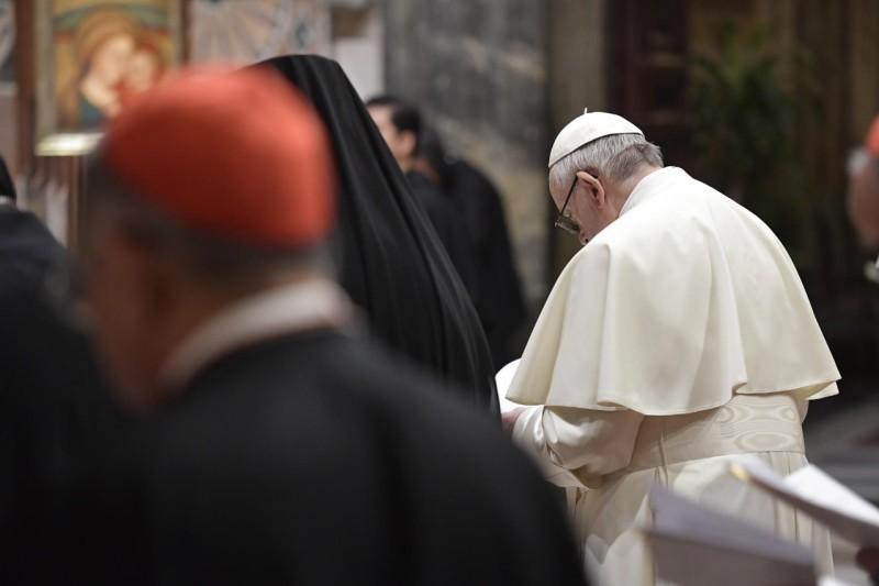 Acto de contrición en la liturgia penitencial © Vatican Media