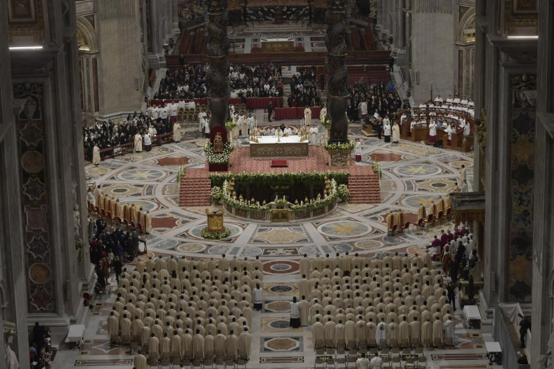 Misa de la presentación 2019 @ Vatican Media