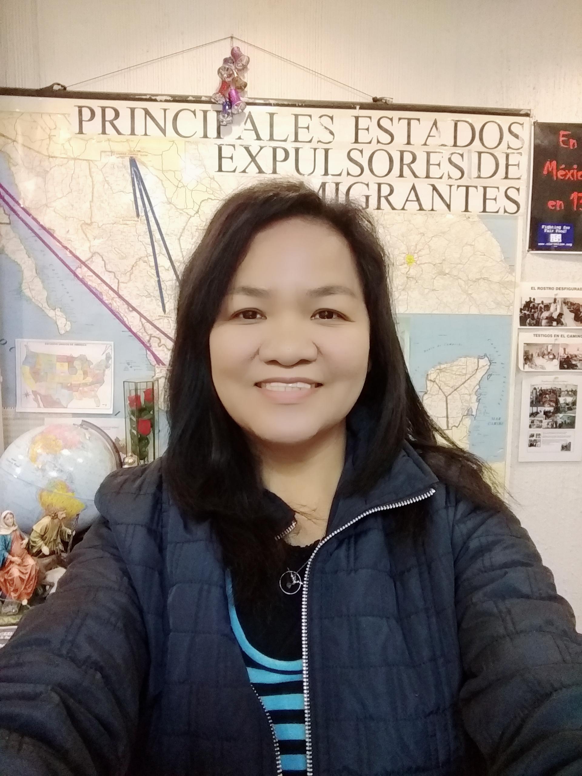 © Arlina Barral, responsable de la pastoral de migrantes de la Arquidiócesis de México