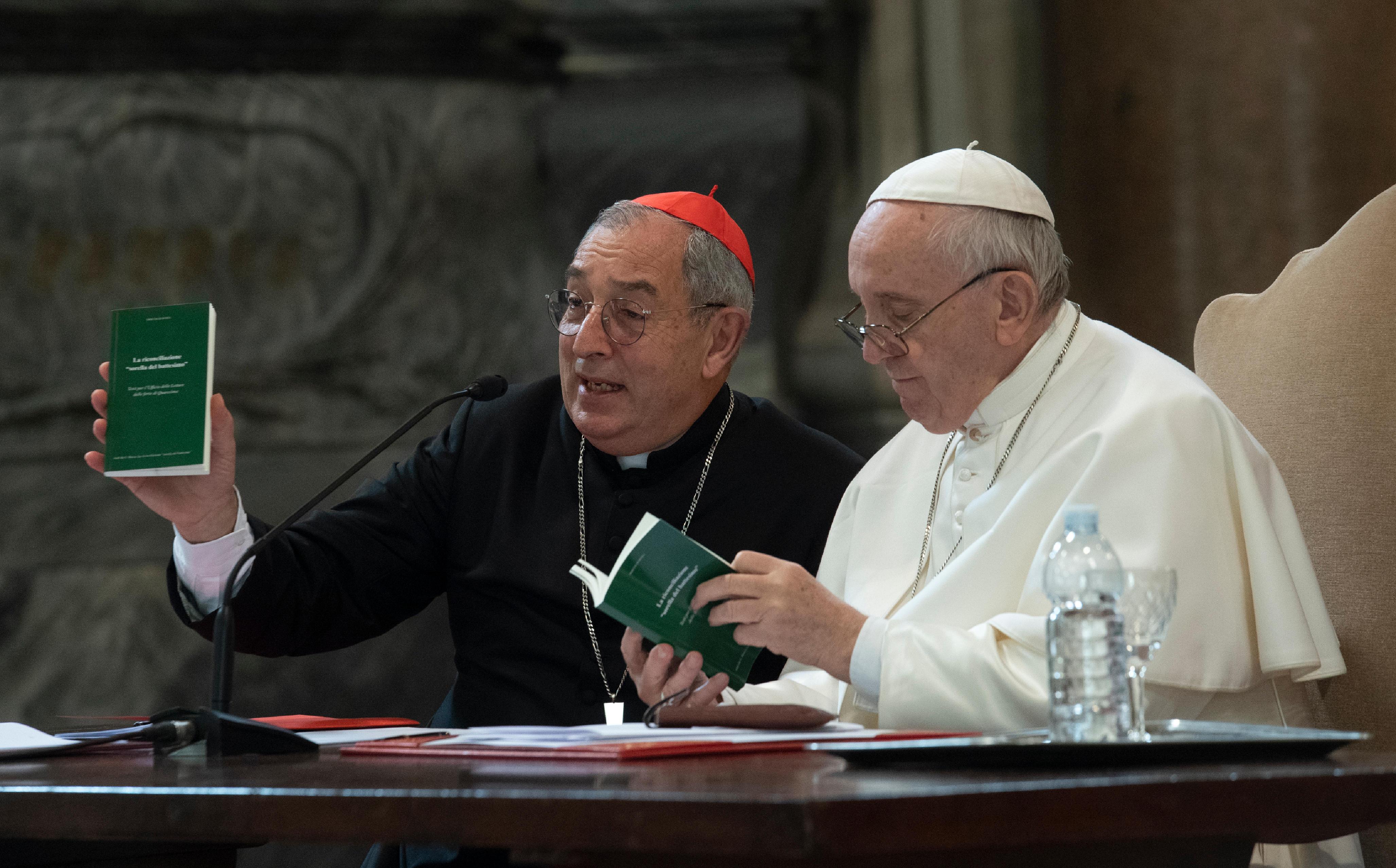 Encuentro del Papa con el Clero de Roma © Vatican Media