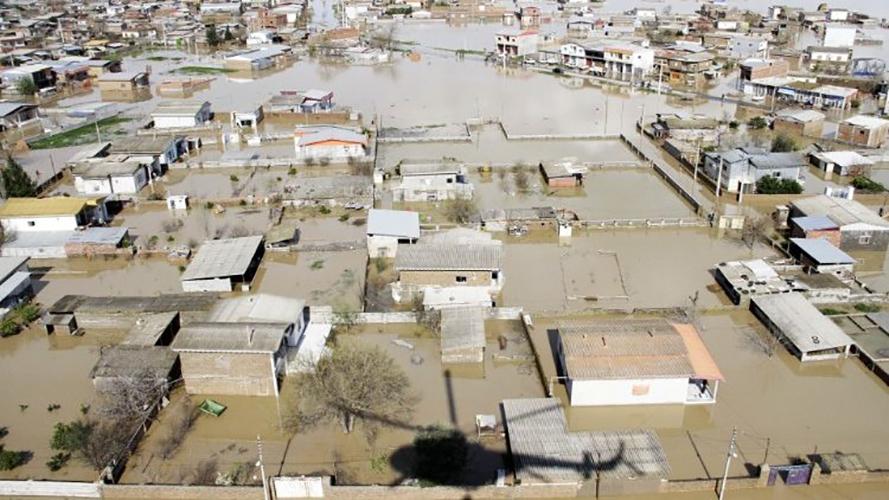 Inundación en Irán © Vatican News