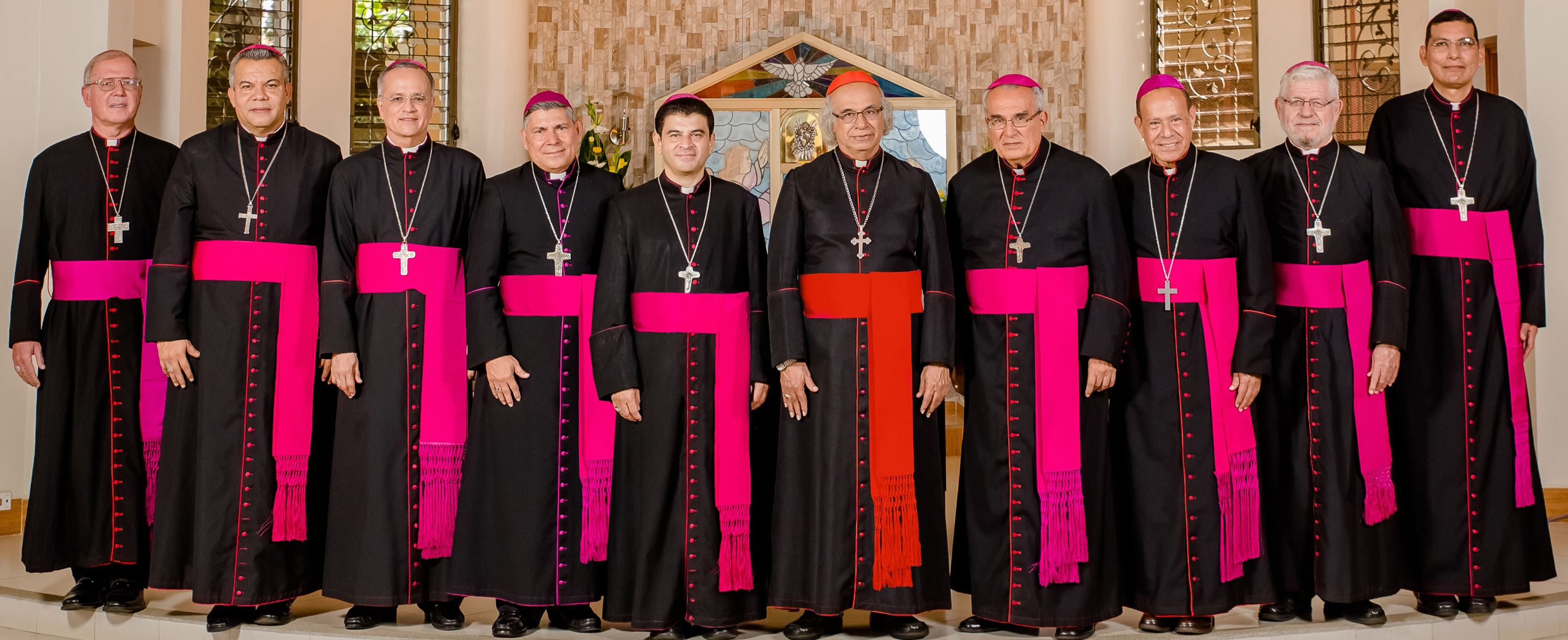 Obispos de Nicaragua © Facebook Conferencia Episcopal de Nicaragua