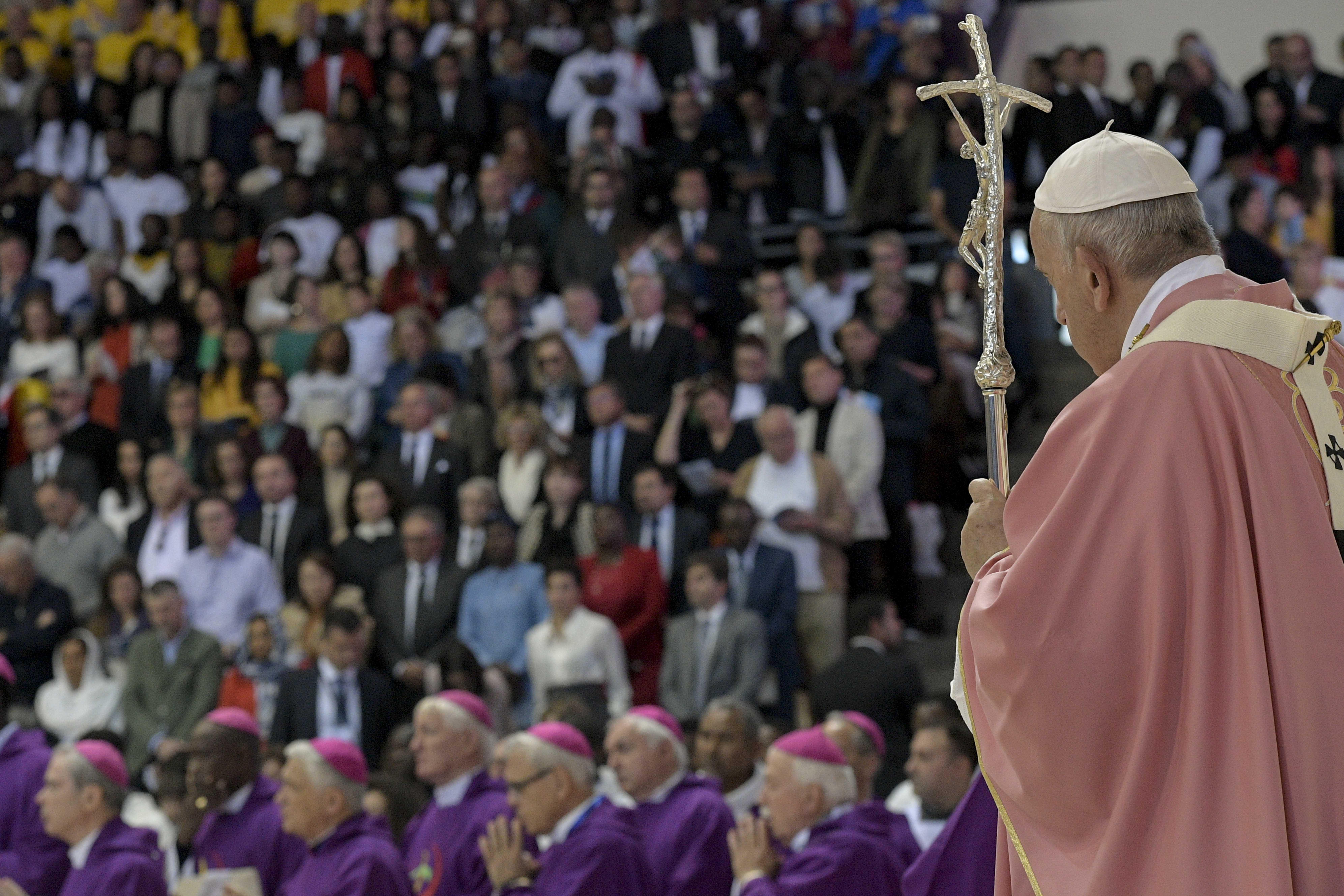 Llamado del Papa a la fraternidad en Marruecos © Vatican Media