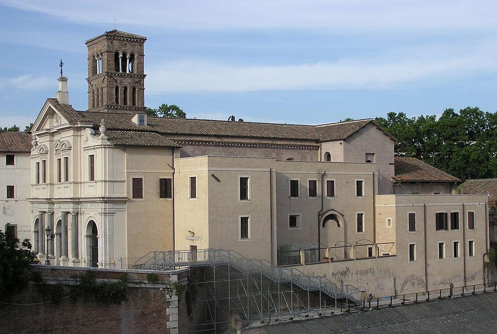 Iglesia De San Bartolomé En Roma,© Wikipedia