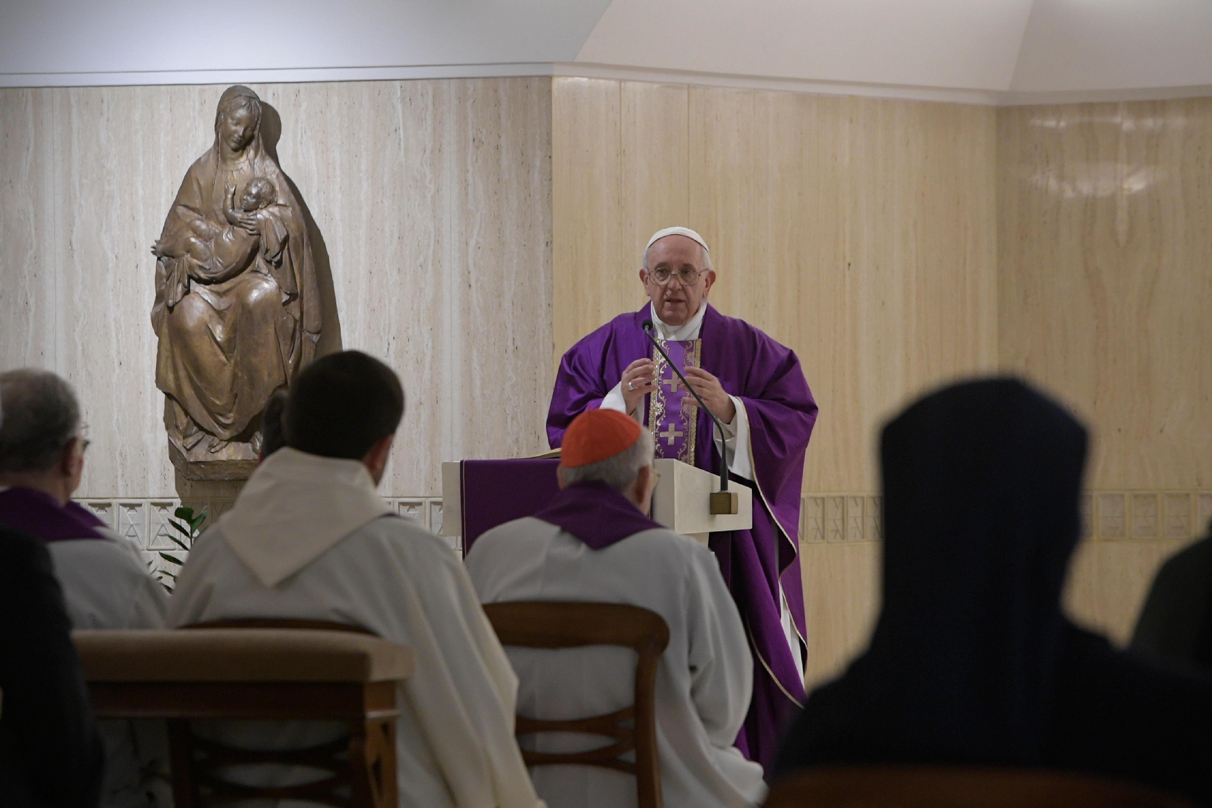 Eucaristía en Santa Marta, 7 marzo 2019 © Vatican Media