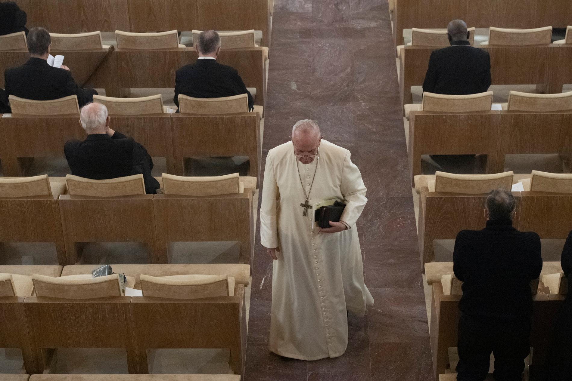Retiro de Cuaresma para la Curia Romana, 14 marzo 2019 © Vatican Media