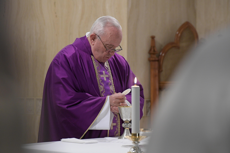 Eucaristía en Santa Marta, 28 marzo 2019 © Vatican Media