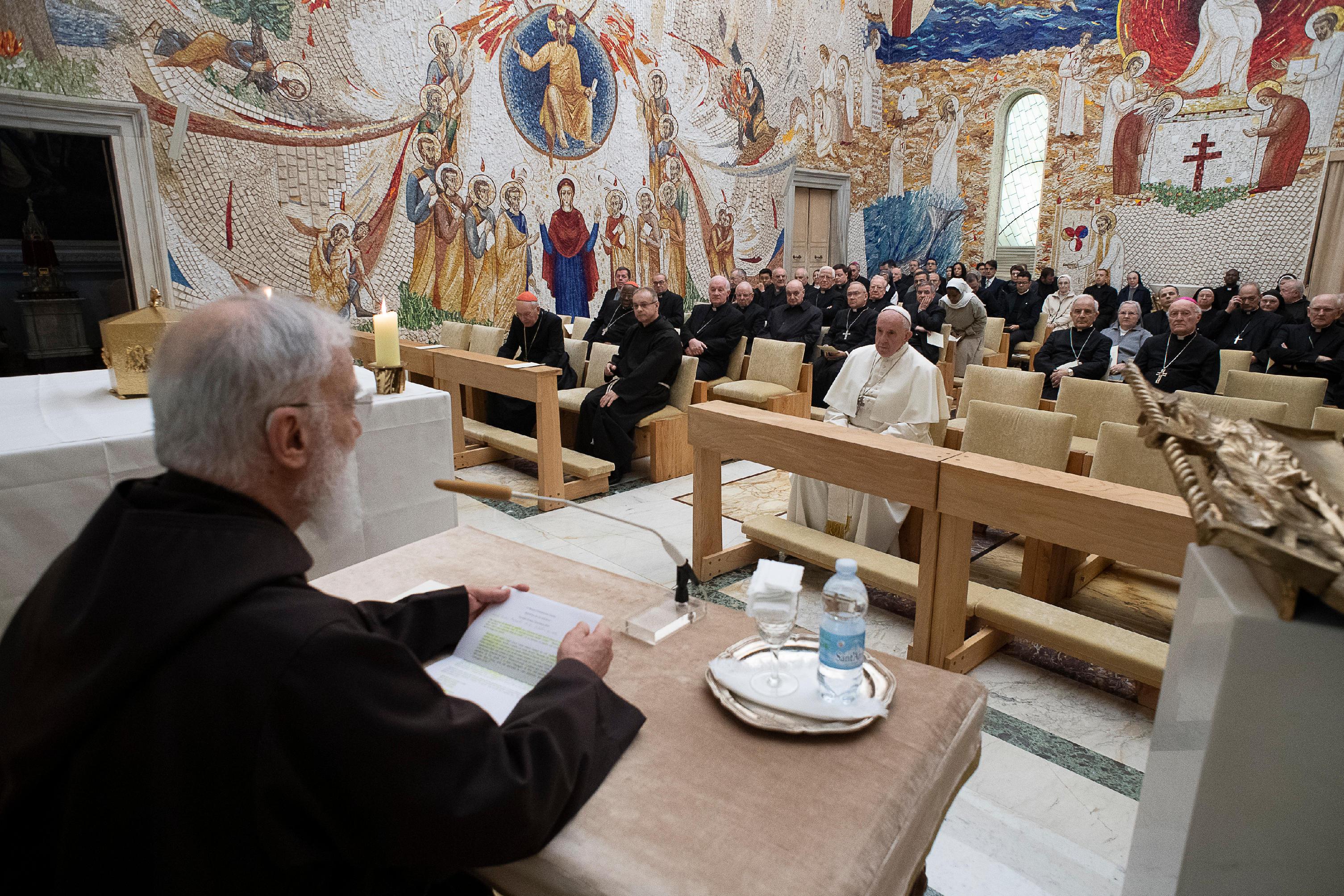 Segunda Predicación De Cuaresma De P. Cantalamessa, 22 De Marzo De 2019 © Vatican Media