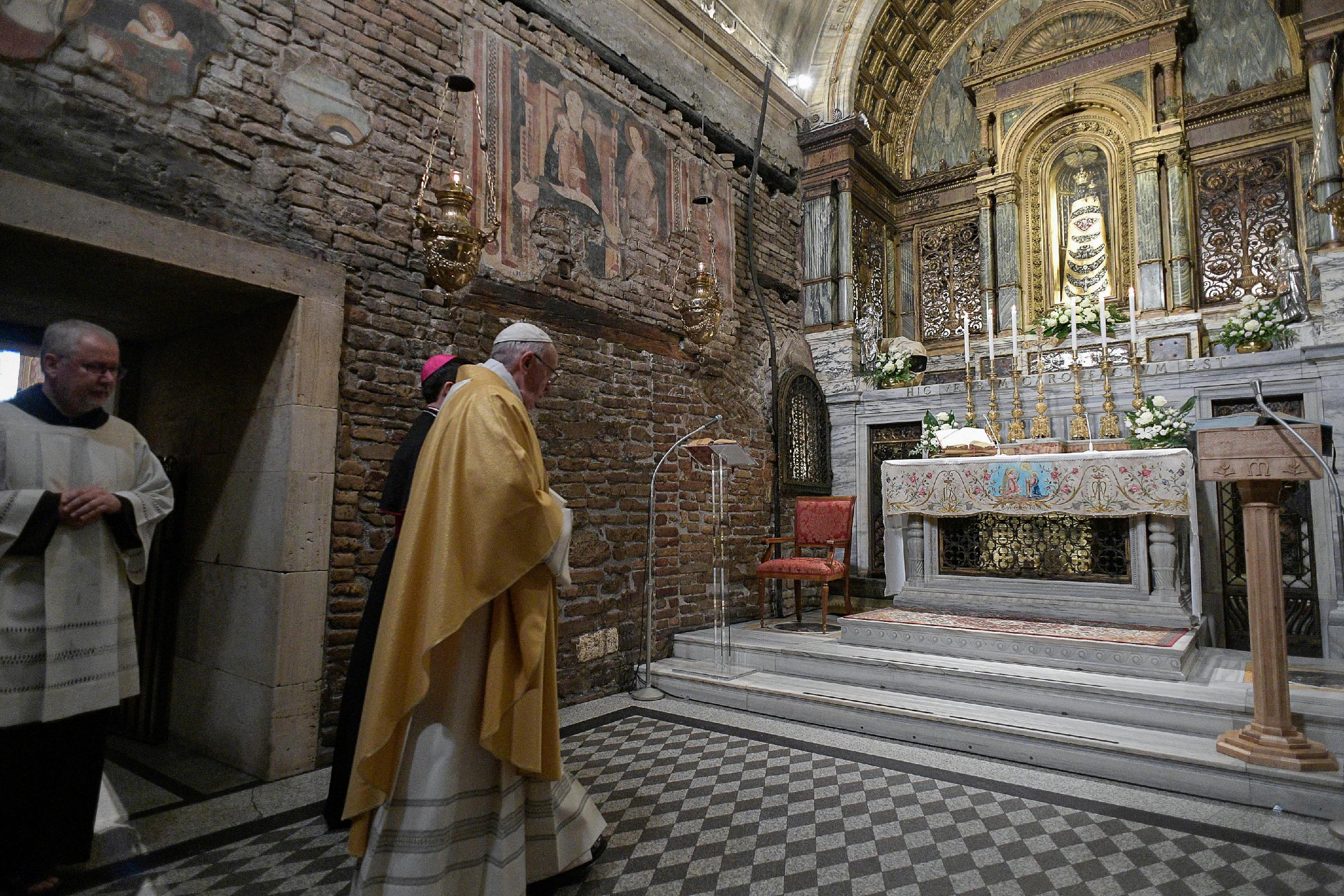 Visita del Papa Francisco a Loreto © Vatican Media