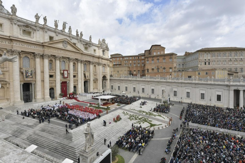 Ángelus, Domingo de Ramos, 14 de abril 2019 © Vatican Media