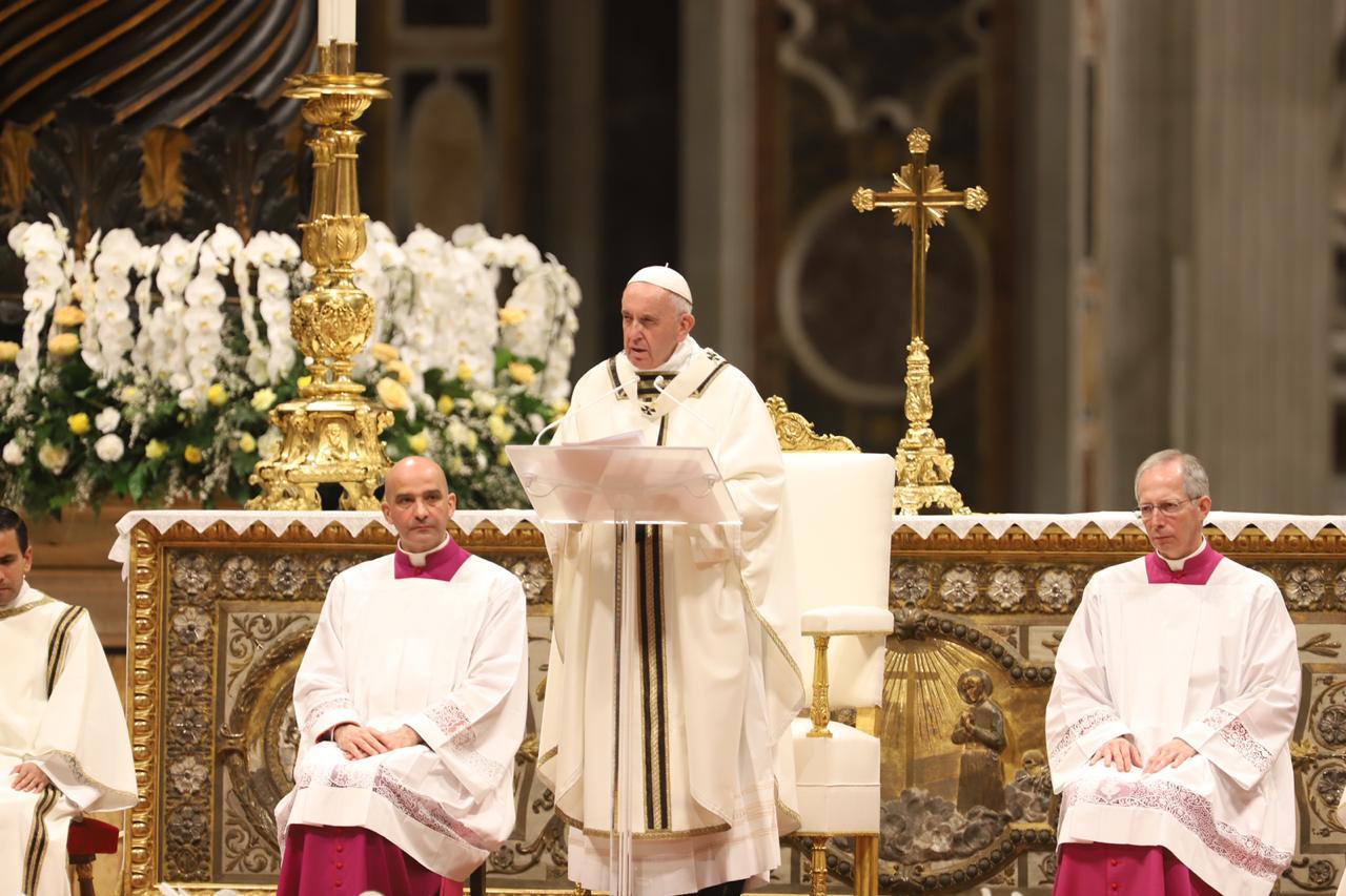 Homilía del Santo Padre en la Vigilia Pascual, 20 abril 2019 © Zenit/María Langarica