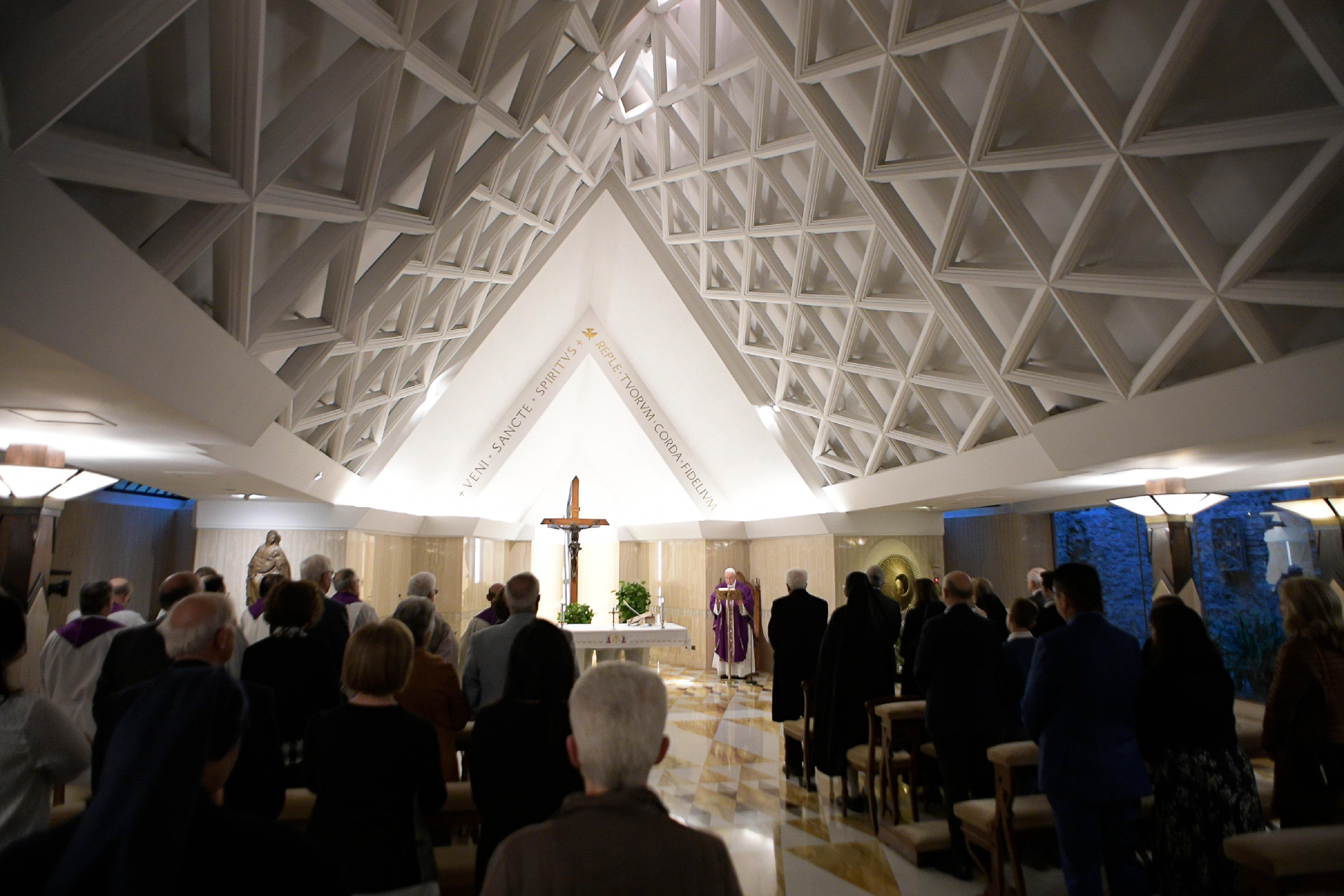 Misa en Santa Marta, 4 abril 2019 © Vatican Media