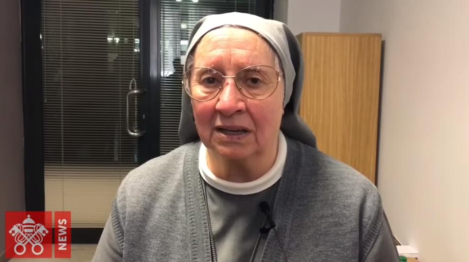 Sor Eugenia Bonetti. Captura de pantalla Vatican News
