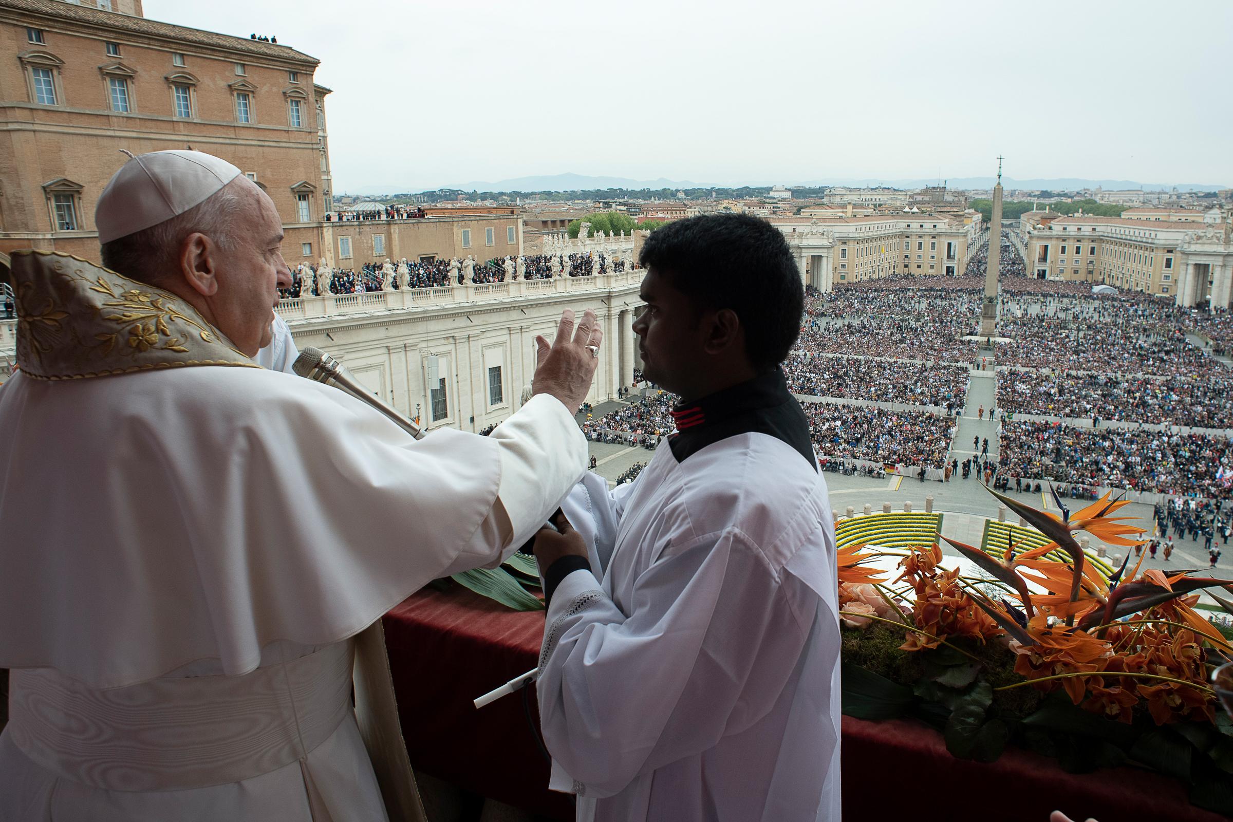 Bendición de Pascua 'Urbi et Orbi', 21 abril 2019 © Vatican Media