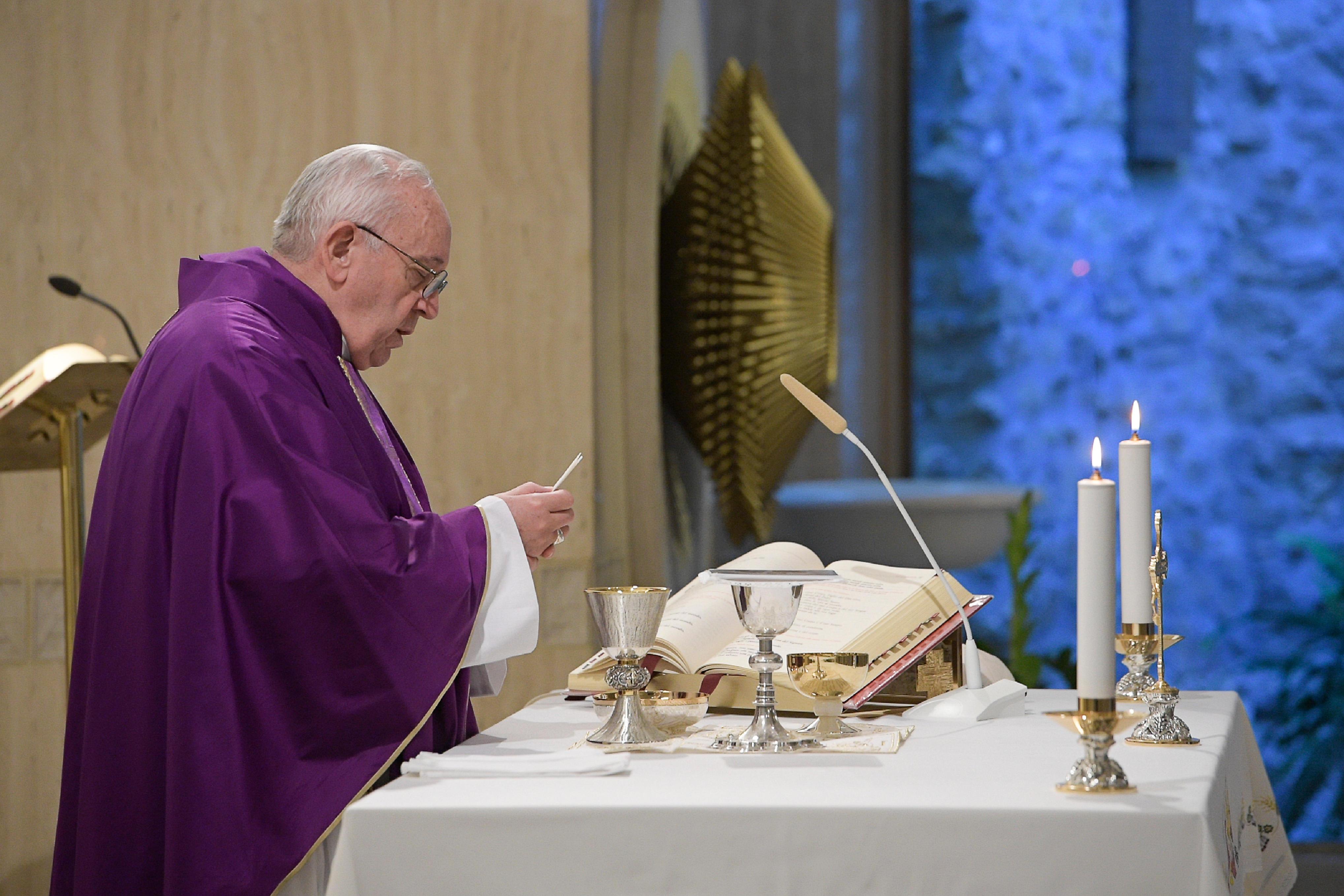 Misa en Santa Marta, 9 abril 2019 © Vatican Media