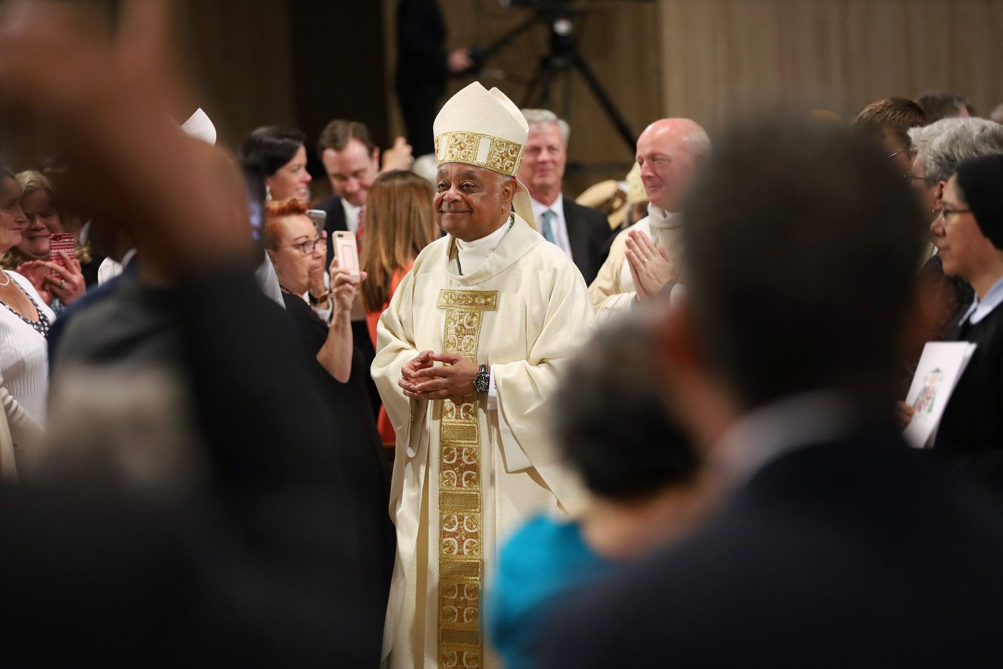 Mons. Wilton Gregory © Arquidiócesis de Washington