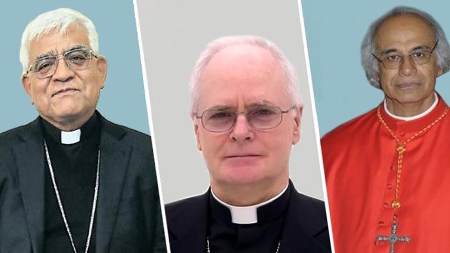 Mons. Cabrejos, Cardenal Scherer y Cardenal Brenes © CELAMMons. Cabrejos, Cardenal Scherer y Cardenal Brenes © CELAM