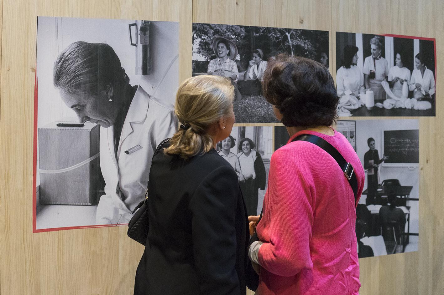 Exposición sobre Guadalupe Ortiz © Opus Dei