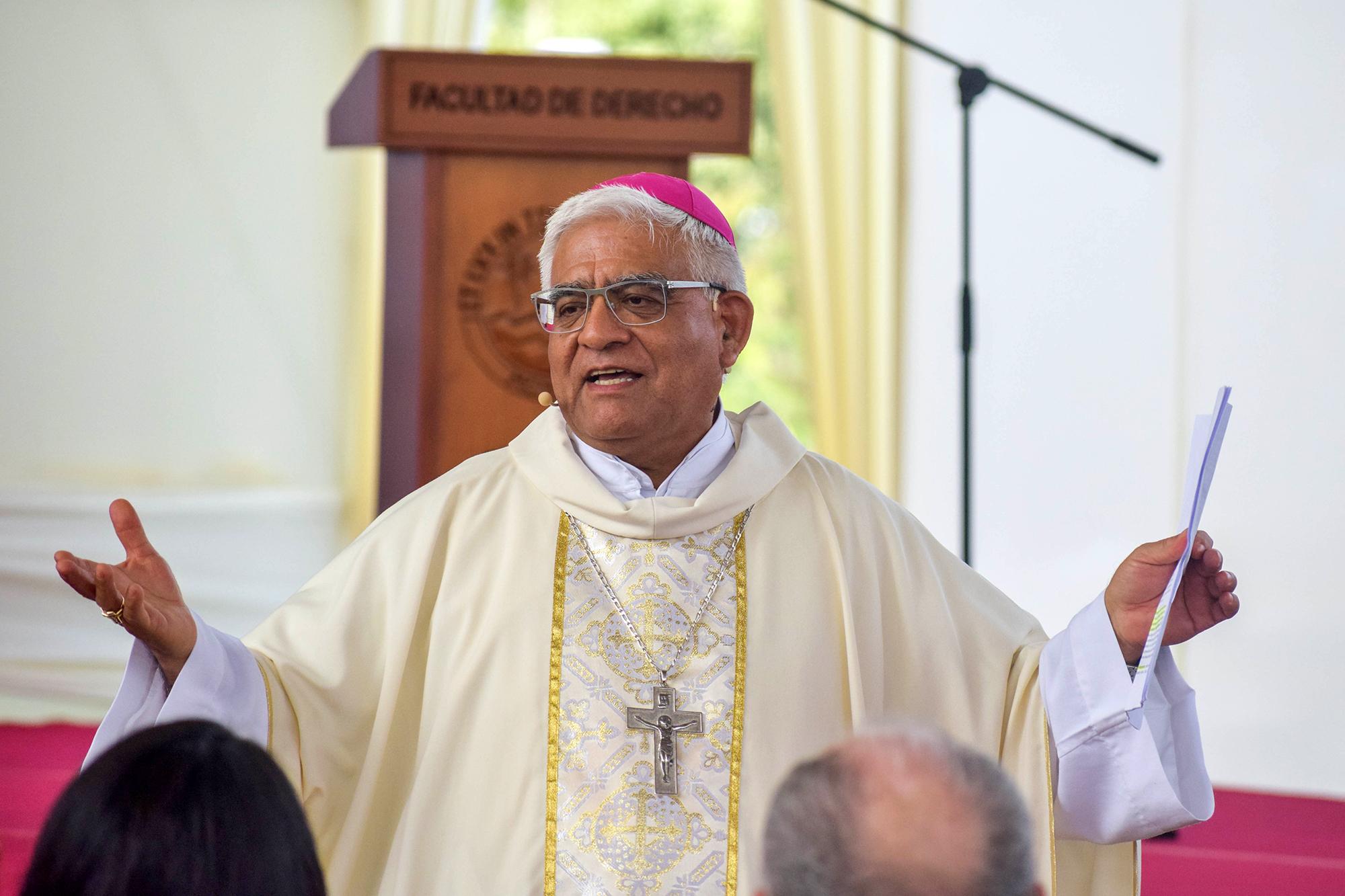 Mons Cabrejos, presidente del CELAM © Conferencia Episcopal Peruana