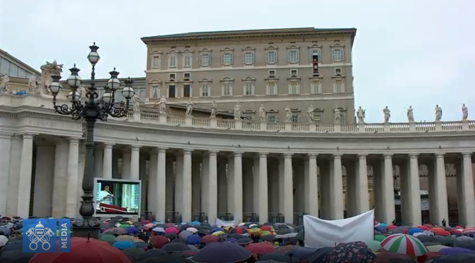 Regina Caeli Du 26 Mai 2019, Capture Vatican Media