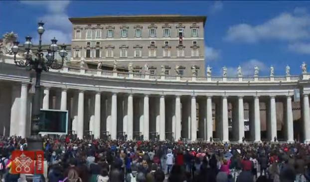 Regina Caeli Desde El 12 De Mayo De 2019, Captura De Medios Del Vaticano