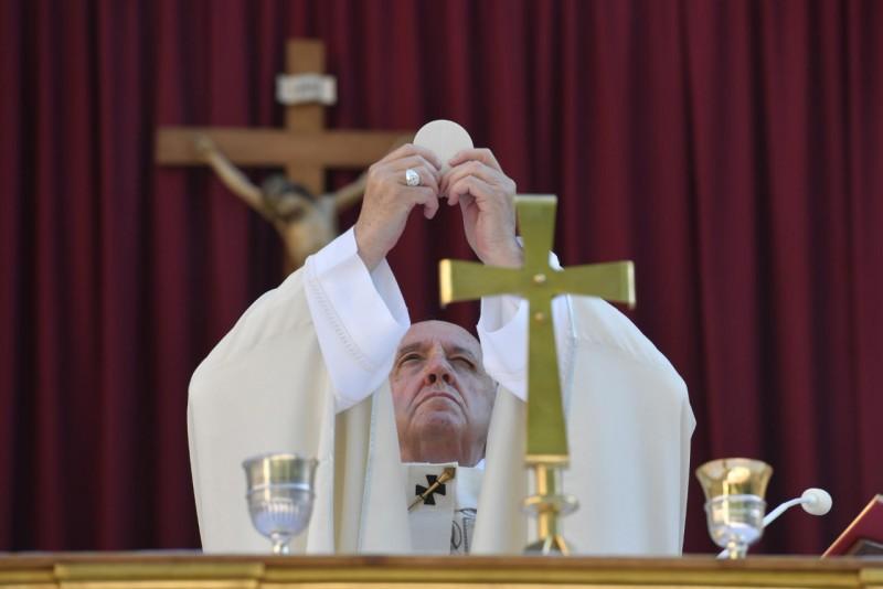 Misa en la solemnidad del Corpus Christi © Vatican Media