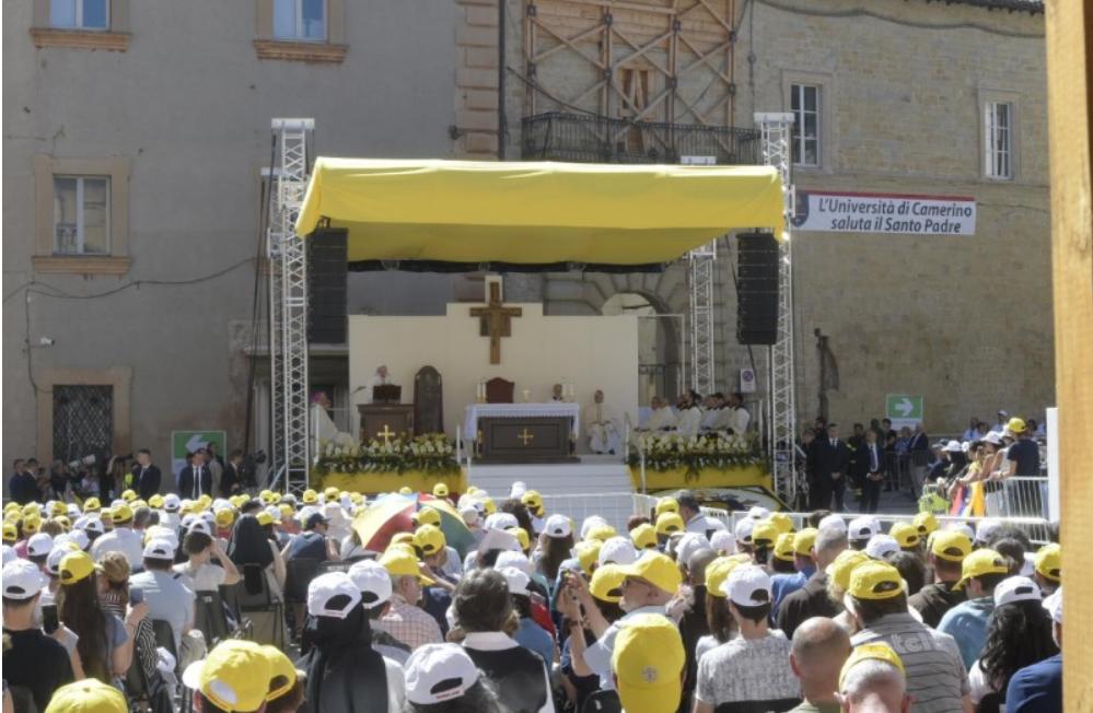 Misa En Camerino, 16 De Junio De 2019 © Vatican Media
