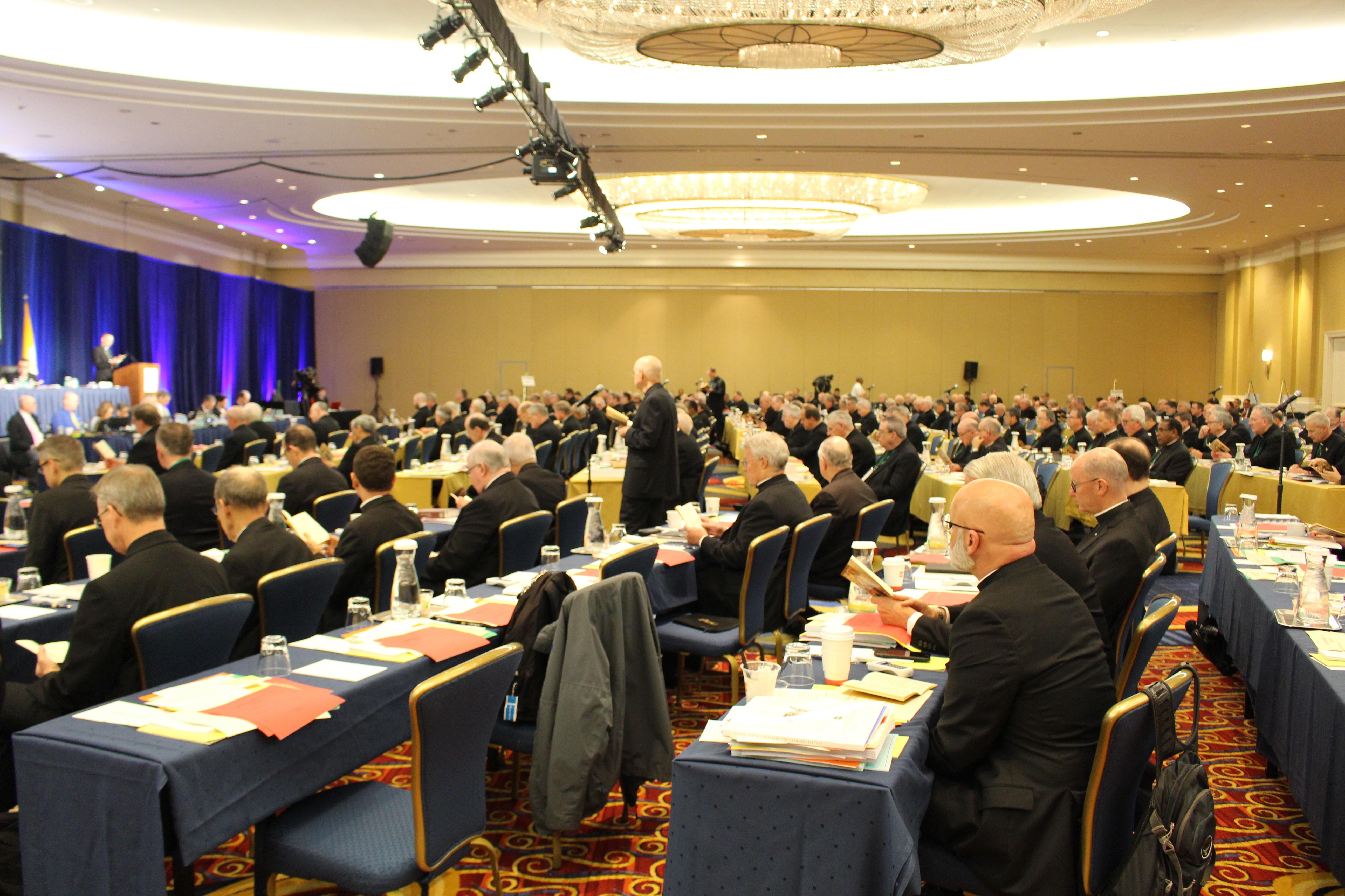 Asamblea de los Obispos de Estados Unidos © Enrique Soros