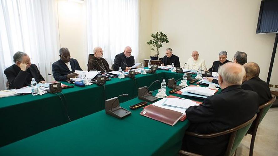 30ª Reunión del Consejo de Cardenales © Vatican Media