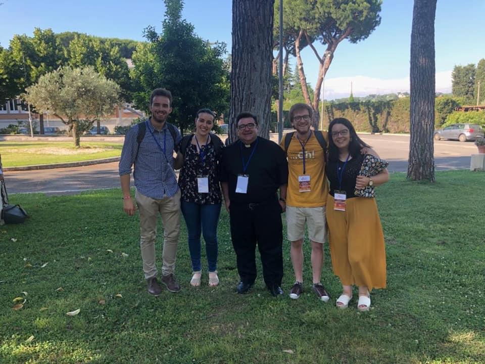 Delegación de España en el Foro Internacional de los Jóvenes © Raúl Tinajero