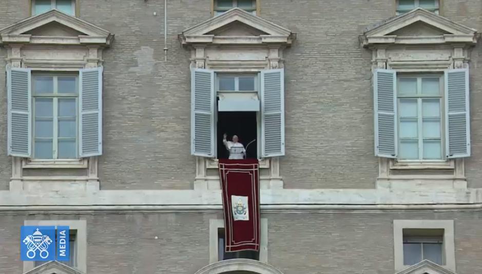 Ángelus 28 julio 2019 © Vatican Media