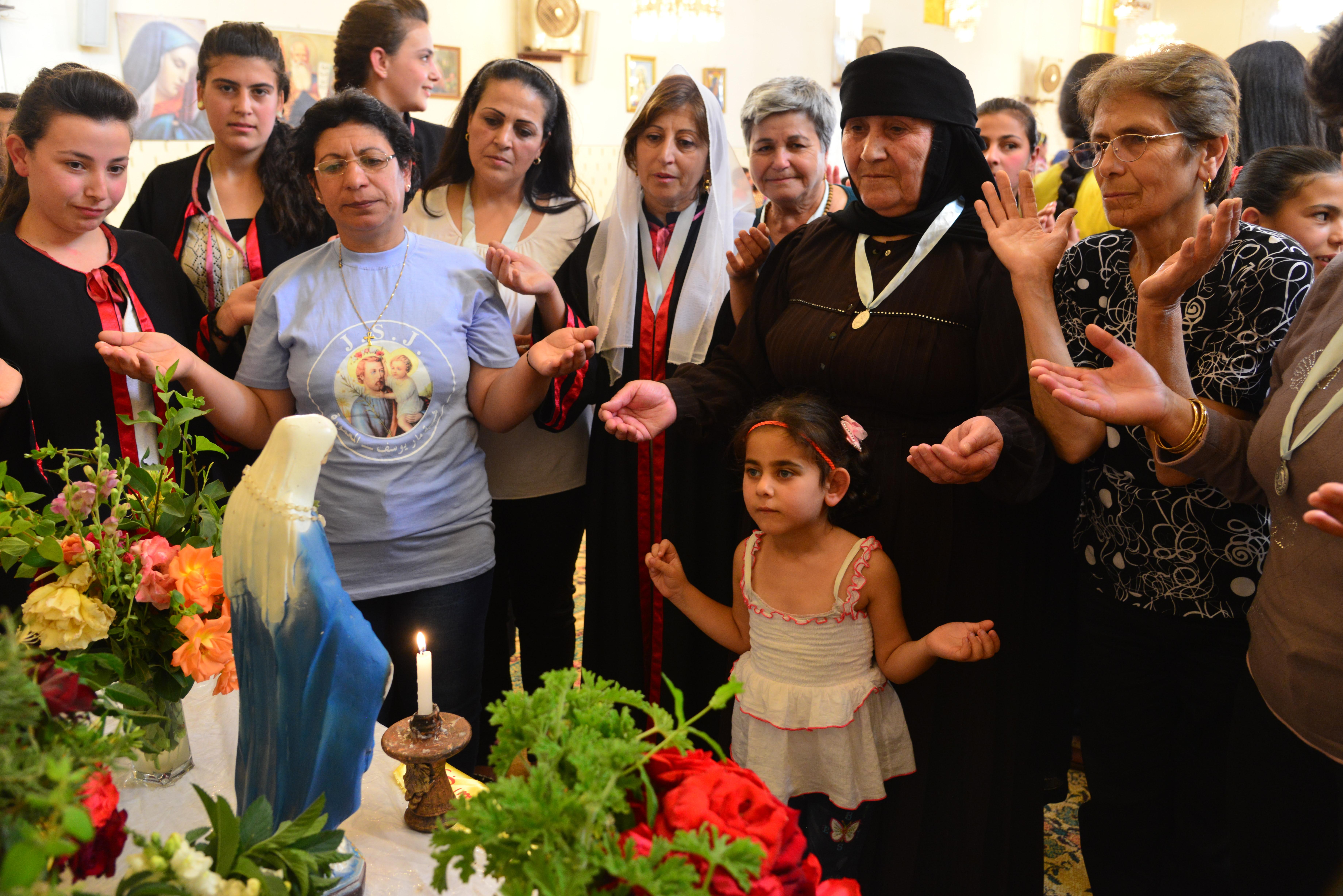 Comunidad católica de Siria © Ayuda a la Iglesia Necesitada
