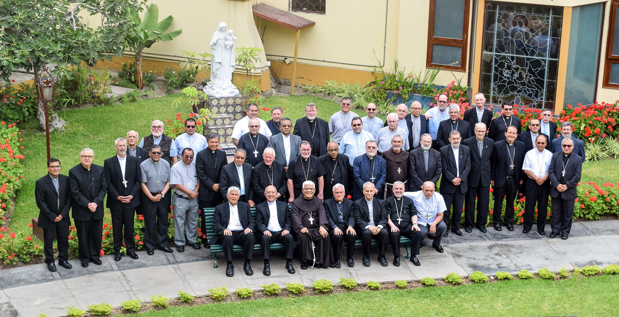 Obispos de Perú © Conferencia Episcopal Peruana