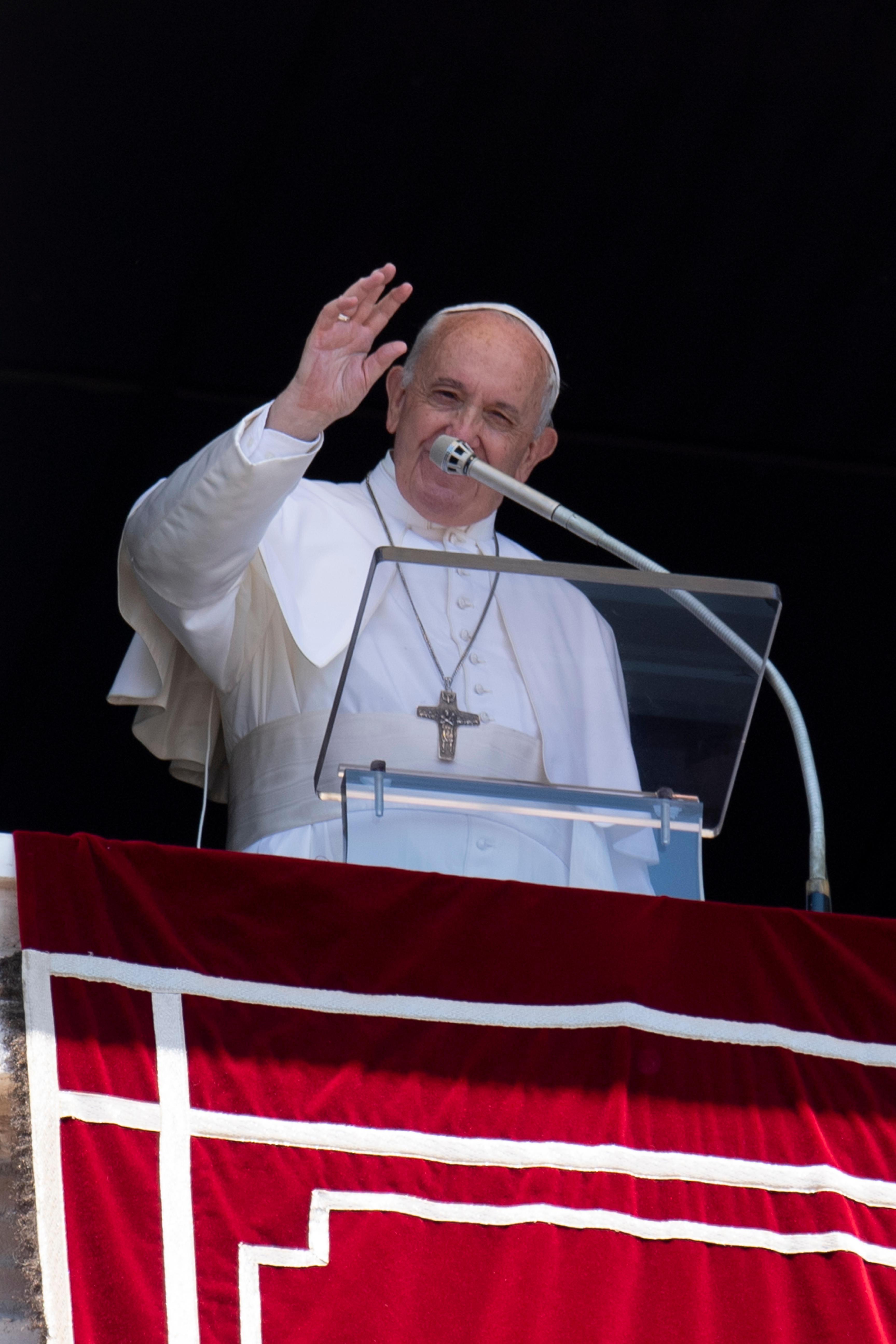 Ángelus 15 septiembre 2019 © Vatican Media