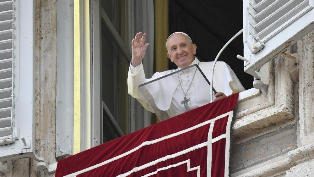 Ángelus 22 septiembre 2019 © Vatican Media