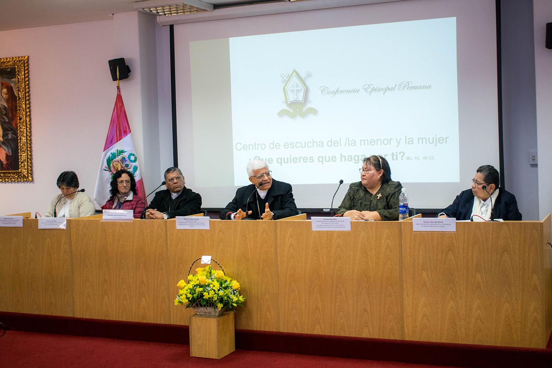 Presentación del Centro de Escucha al Menor y a la Mujer © Conferencia Episcopal Peruana