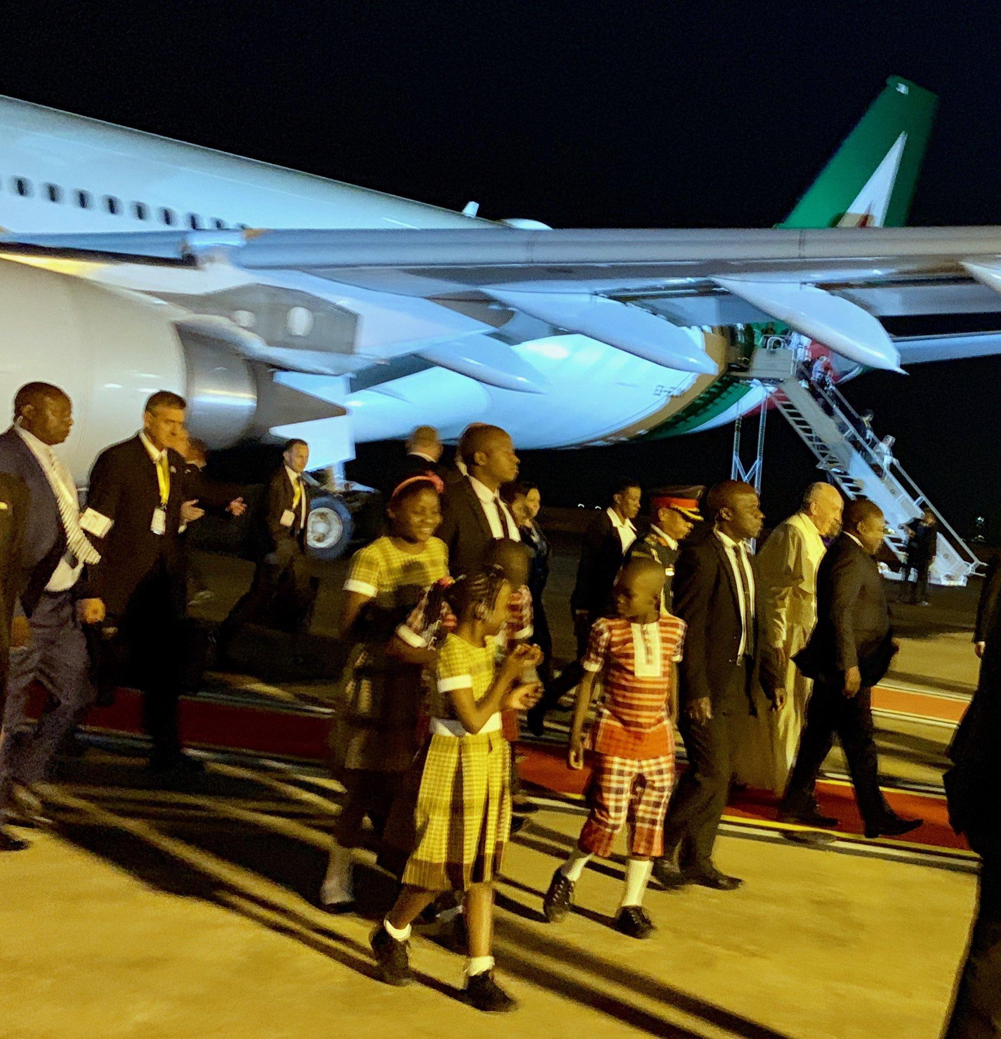 Llegada del Papa a Maputo, Mozambique © Antonio Spadaro