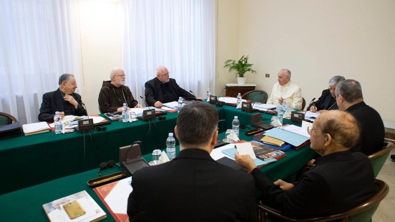 Consejo de cardenales nueva reunión