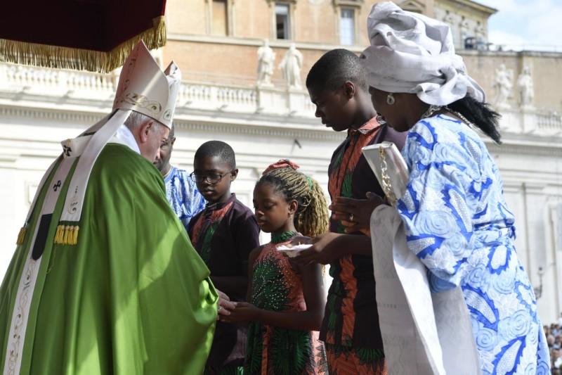 Día del Migrante y del Refugiado © Vatican Media