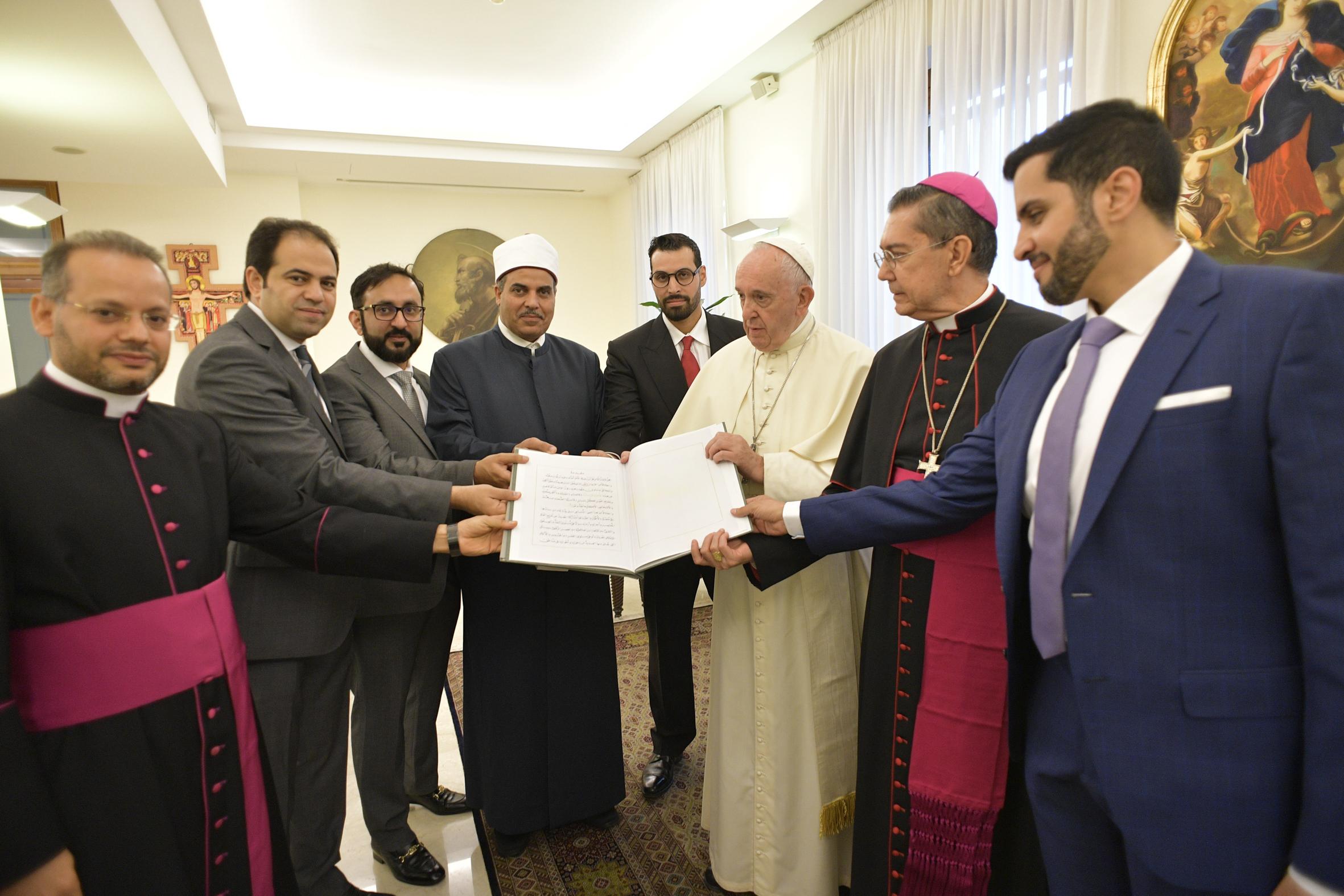 Primera reunión del Comité superior © Vatican Media