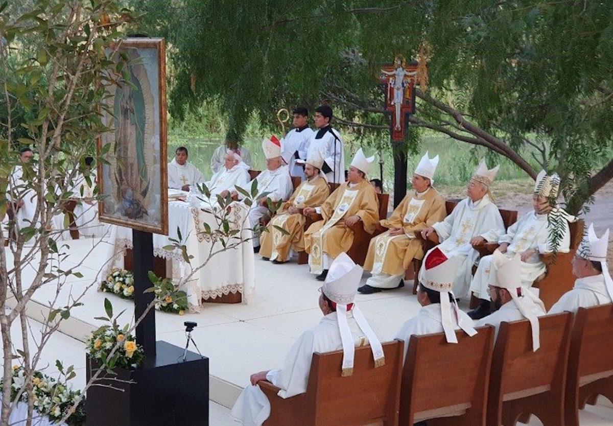 Obispos de la frontera entre México y EEUU © Vatican Media