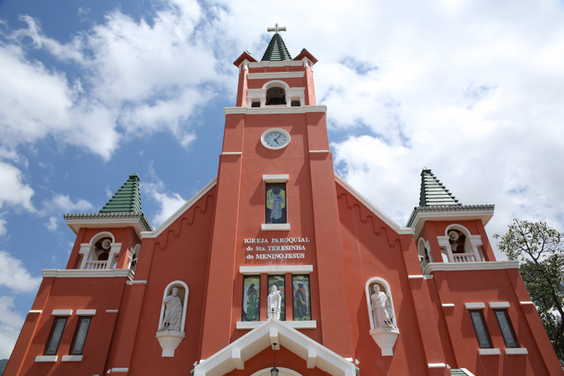 Iglesia Santa Teresa, Diócesis de Baucau © Wikimedia
