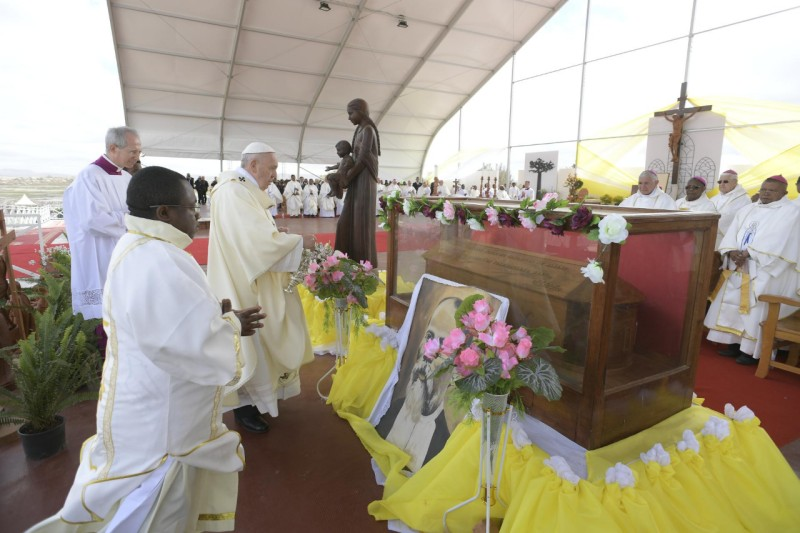 Ángelus, Madagascar 2019 © Vatican Media