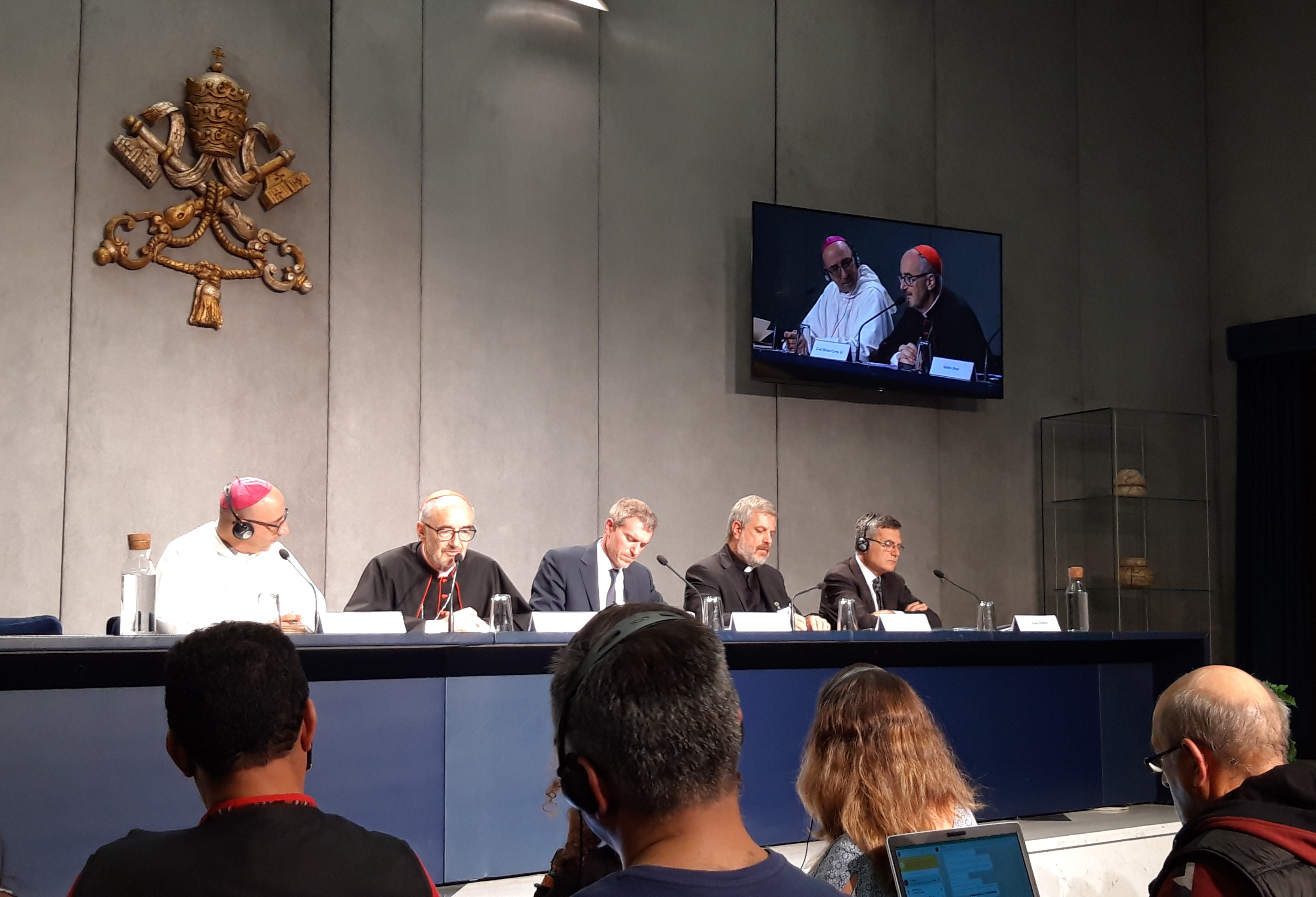 Presentación del documento final del Sínodo Amazónico © zenit/Rosa Die Alcolea