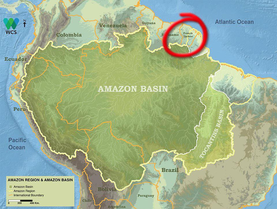 Guayana Francesa © Free World Maps
