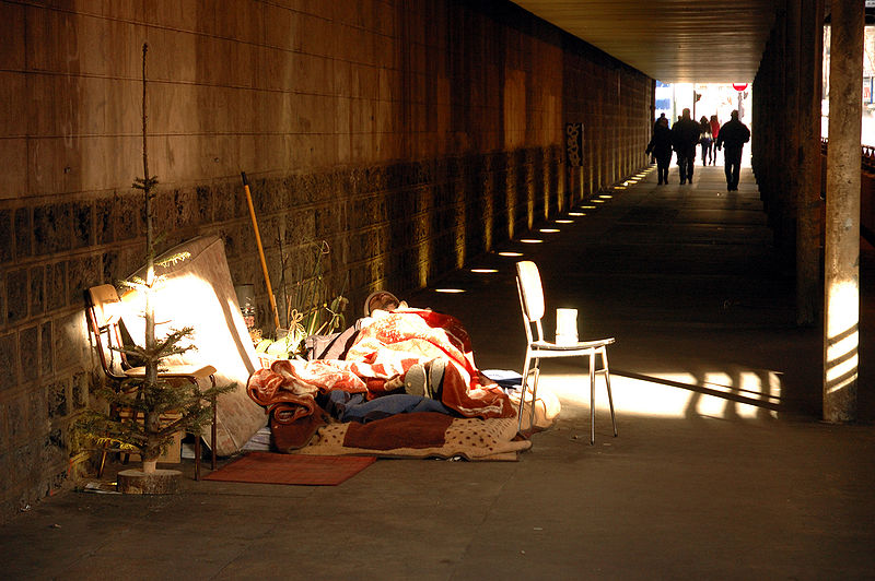 personas sin hogar Roma