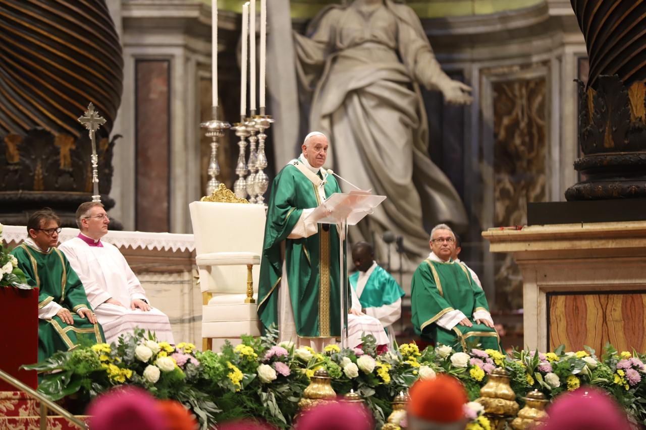 Homilía del Papa Francisco, 27 oct. 2019 © zenit/María Langarica